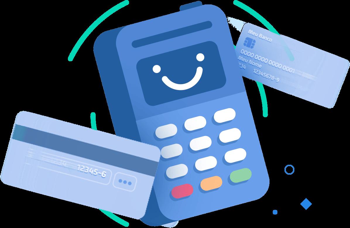 Ícone representando máquina de cartão
