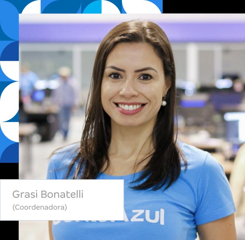 Carol Pacheco. Coordenadora na Conta Azul